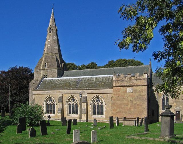 Bolsover - St Mary & St Lawrence Church