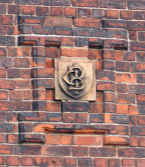 "Bestwood - ""BICC"" stone motif on Park Road house"