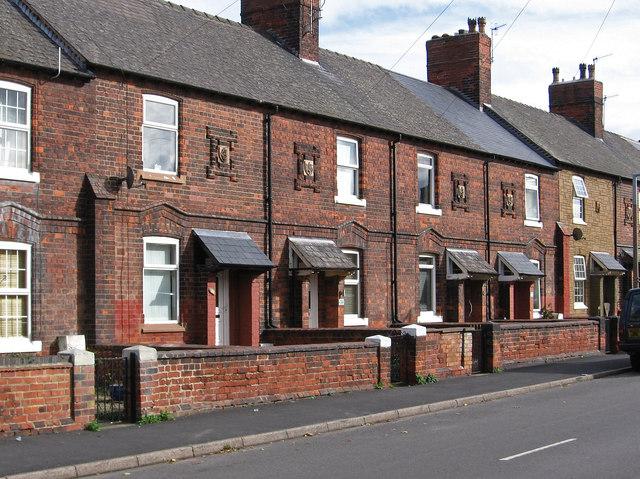 Bestwood - mid-terrace houses on Park Road