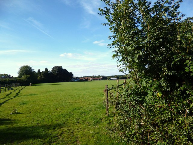Towards Studley Green Farm