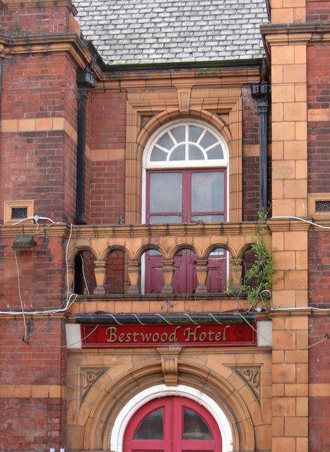 Bestwood - Bestwood Hotel - brickwork detail