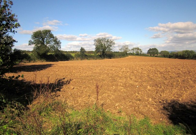 Ploughed field at Fair View