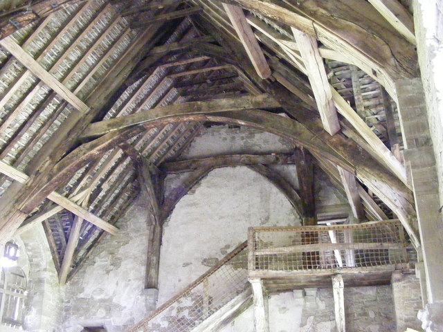 Stokesay Hall Roof
