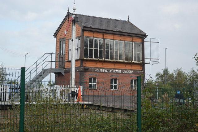 Chasewater Heaths Crossing Signal Box