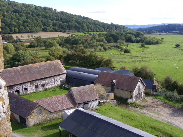 Stokesay Farm View