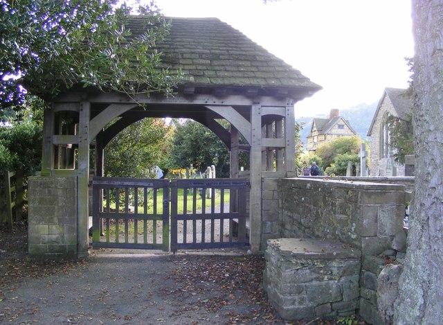 Stokesay Lych Gate
