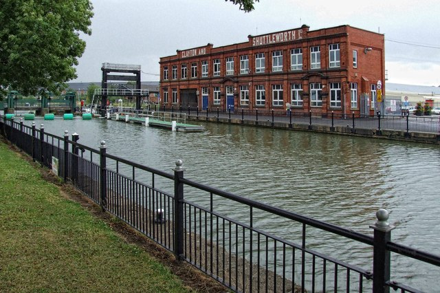 The former Clayton & Shuttleworth Stamp End Works, Lincoln