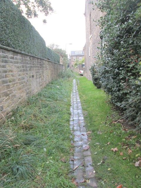 Footpath - Manor Heath Road