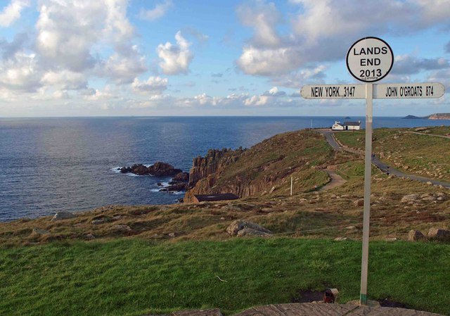 Land's End sign 2013