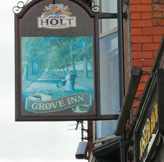 Grove Inn Sign (West face)