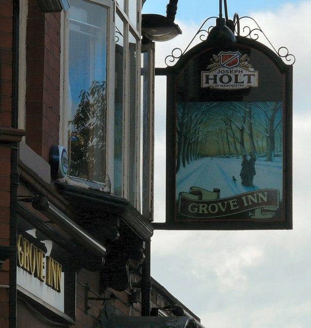 Grove Inn Sign (East face)