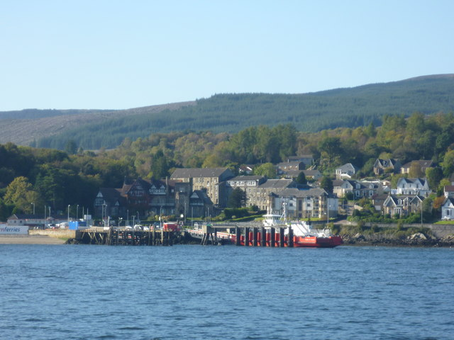 Firth Of Clyde : Ferry Terminal At Hunter's Quay, Near Dunoon