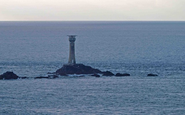Longships lighthouse from Land's End