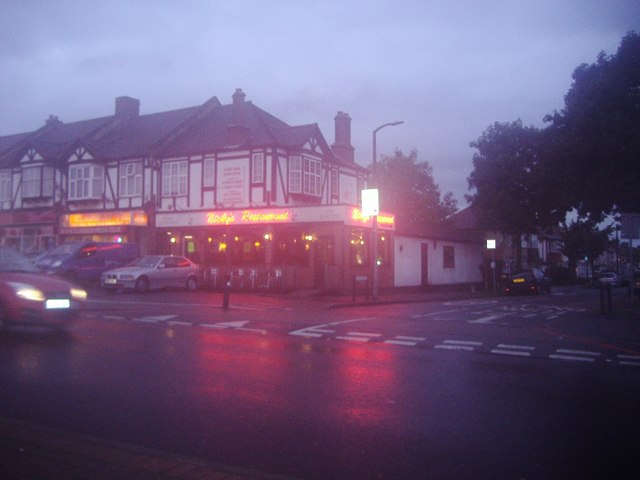 Nicky's Restaurant on London Road, Cheam