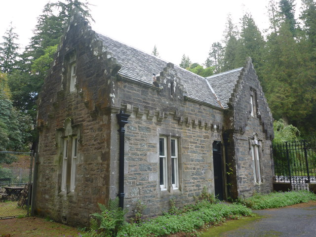 Benmore Botanic Garden : The East Gatehouse