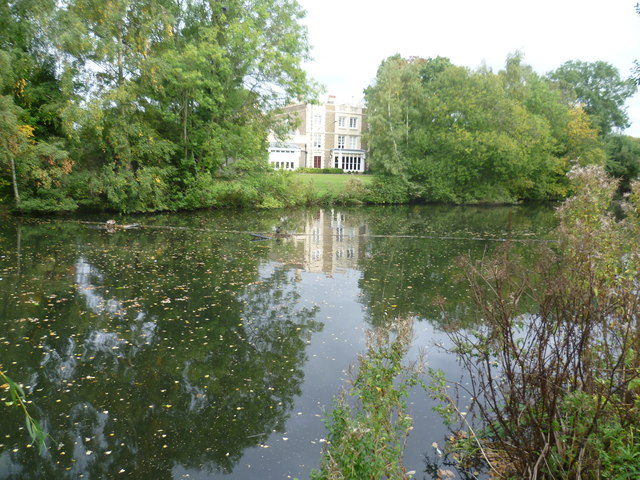 Lamorbey House and Lake from Lamorbey Park