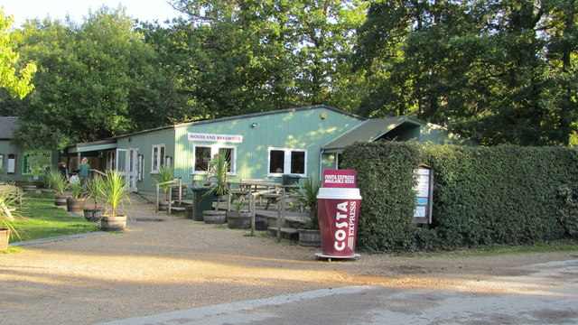 The New Forest Wildlife Park and The Woodland Bake House cafe