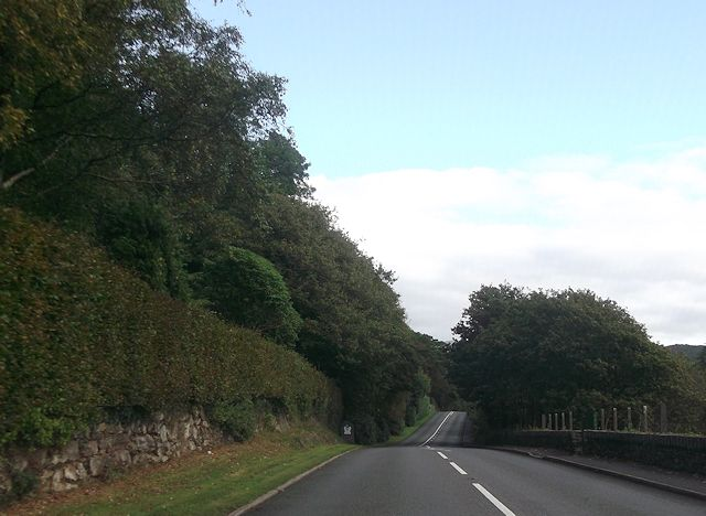 A496 entering Snowdonia National Park
