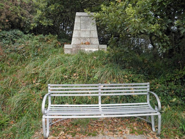 Home Guard memorial on South West coastal path