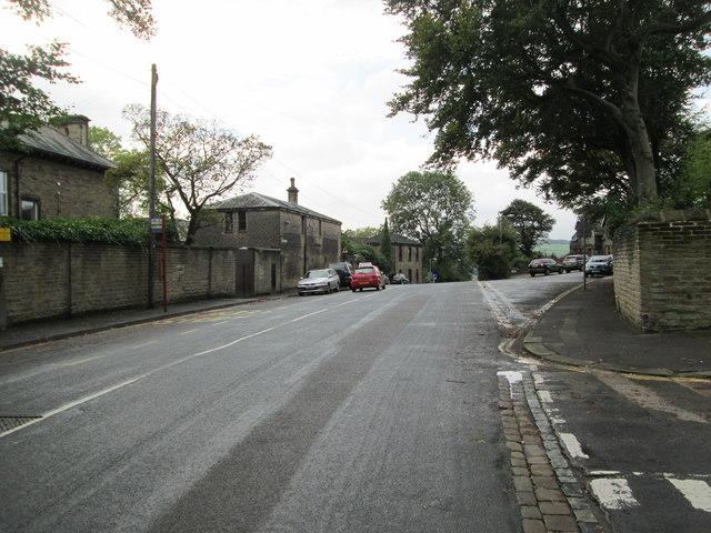 Birdcage Lane - viewed from Kensington Road