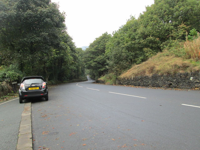 Birdcage Hill - viewed from Gleddings Close