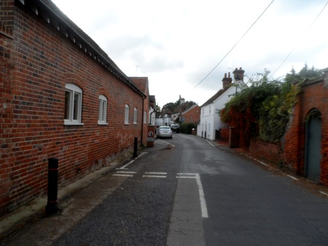 The narrow part of North Warnborough Street