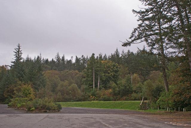 Dunvegan Castle car park