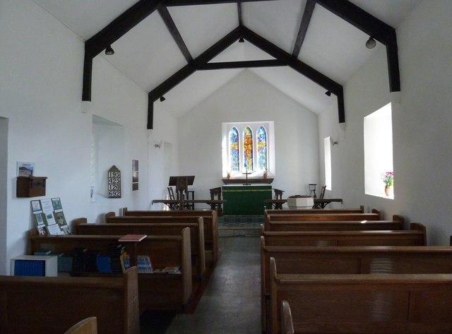 Inside St John the Baptist, Fishpond Bottom (i)