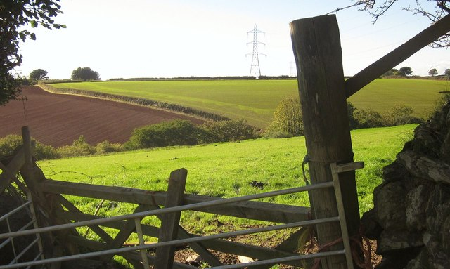 Farmland near Trevashmond