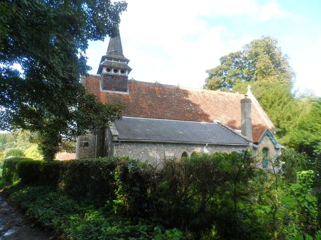 St Lawrence's church, Weston Patrick
