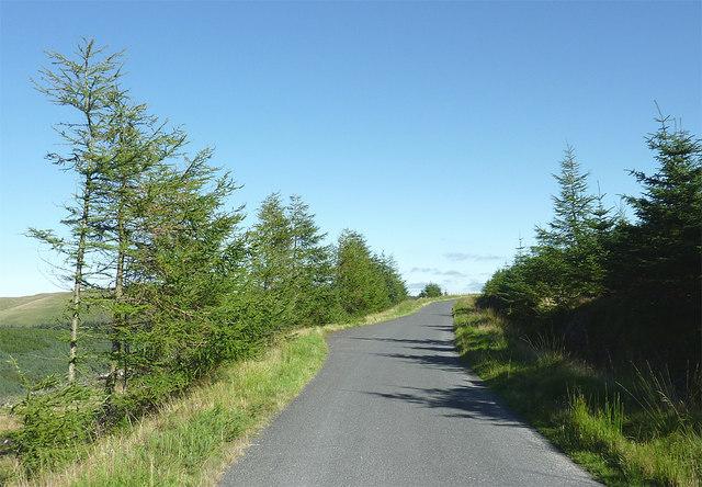 Mountain road to Abergwesyn, Powys