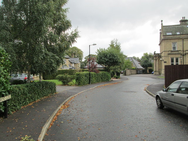 Greenroyd Close - viewed from West End Close