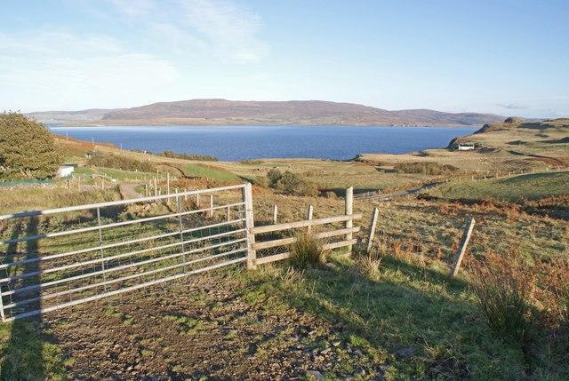 Croft gate at Borreraig