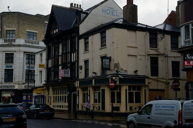The Kingston Tavern on Paragon Street, Hull