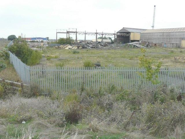 Demolition of former Mechel Services UK Ltd