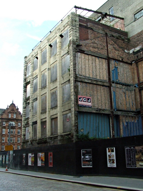 Former fruit warehouse on Candleriggs