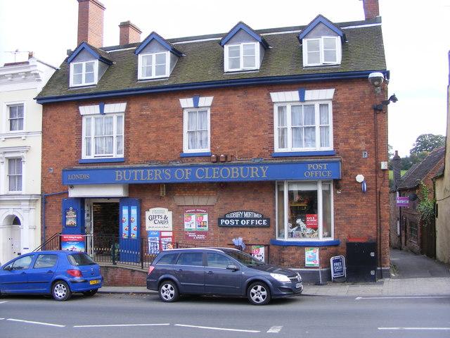 Cleobury Post Office