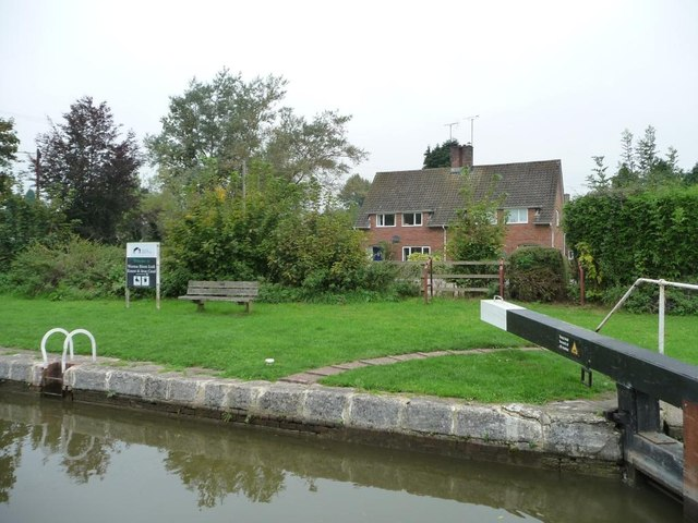 Semi-detached houses in Wootton Rivers