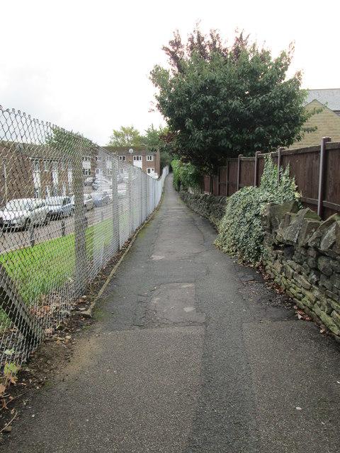 Footpath - Dryclough Lane
