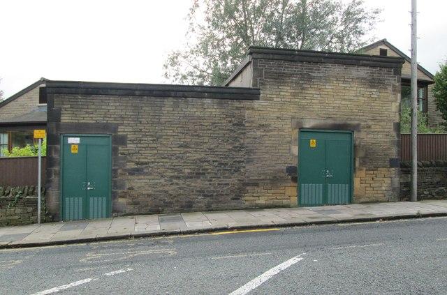 Electricity Substation No 323 - Dryclough Lane
