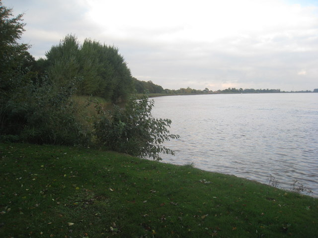 The River Ouse at Saltmarshe