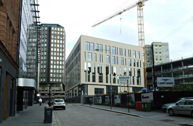 Strathclyde University TIC construction Site