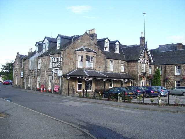 Huntly Arms Hotel, Aboyne