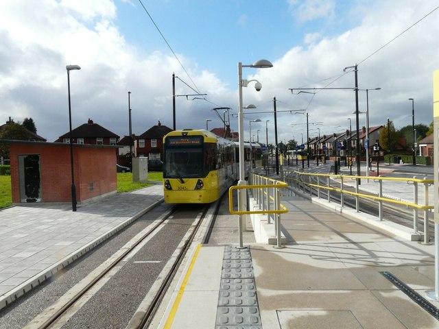 Audenshaw Tram Stop