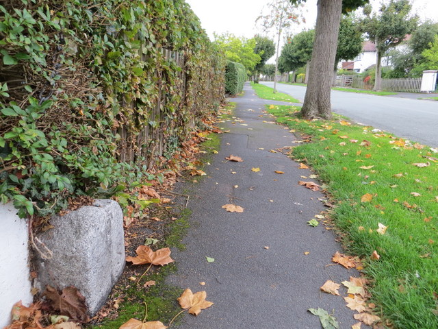Earlsway and a boundary stone