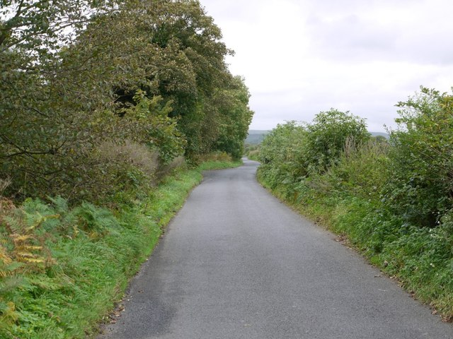 Minor road south of Ovington