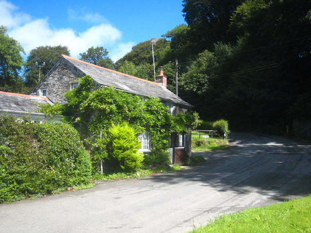 House at Gam Bridge in the Camel valley