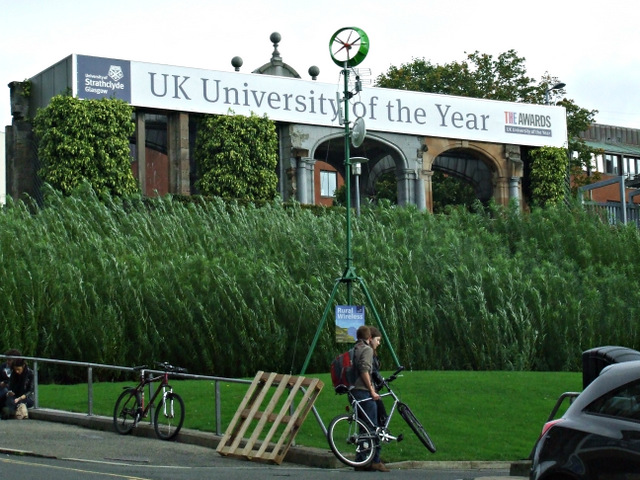 Strathclyde - UK University of the Year 2012