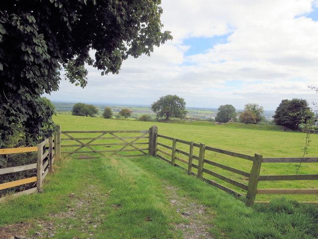 Field gateway west of Offa's Dyke