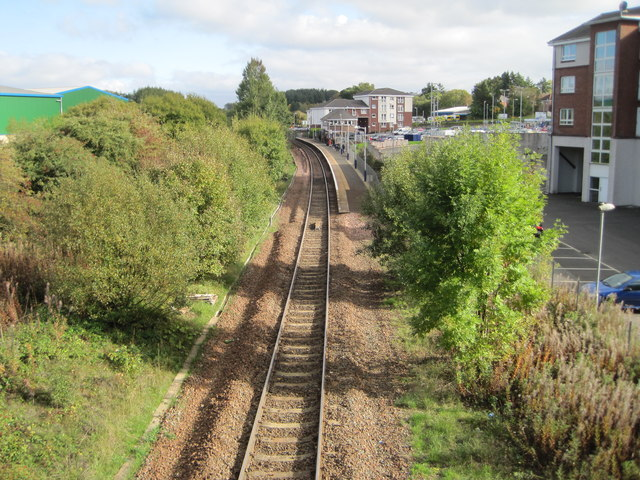 Hairmyres railway station, South Lanarkshire